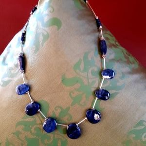 Jewelry - Lapis and Sodalite necklace